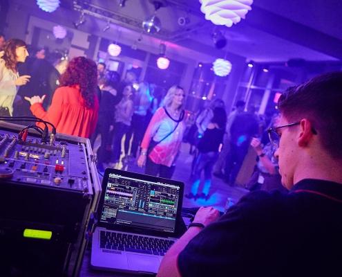 DJ Christoph Elsner auf Party
