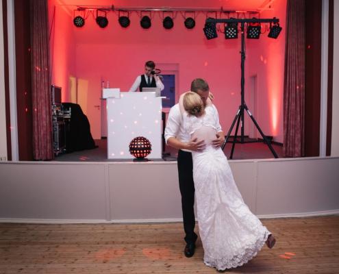 DJ Christoph Elsner auf einer Hochzeit