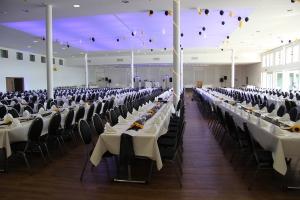 lange Tische Wienecke Congresscentrum DJ Abiball Hannover